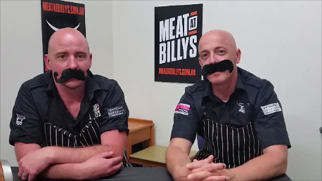 2 Bald Butchers Movember