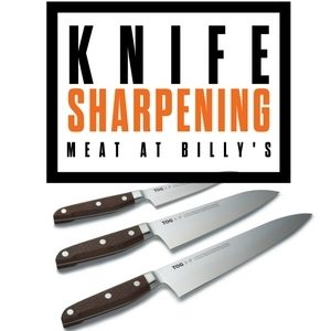 Christmas knife sharpening