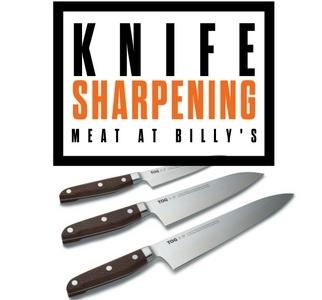 Christmas knife sharpening