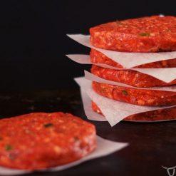 Gourmet beef burgers 6 pack