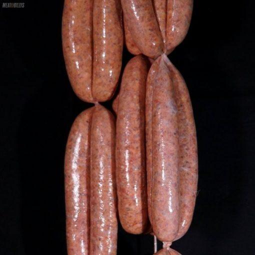 Lamb, XXXX & Vegemite sausages
