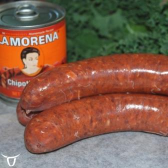beef, chipotle & cheese sausages