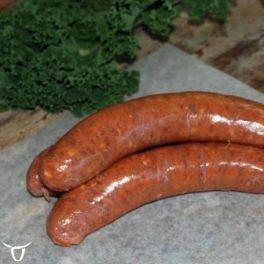 cheeseburger sausages