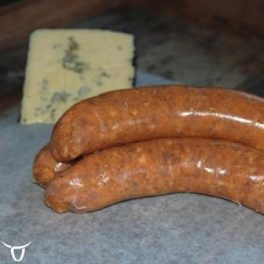 buffalo & blue cheese chicken sausages