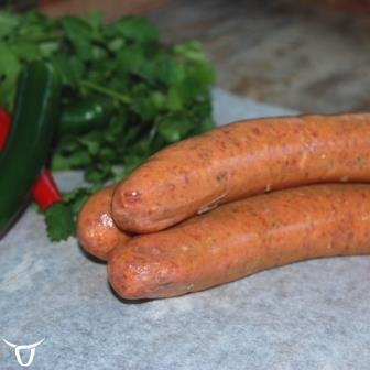 satay beef sausages