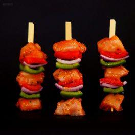 free range chicken & vegetable kebabs 1