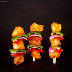 Chicken & Vegetable Kebabs