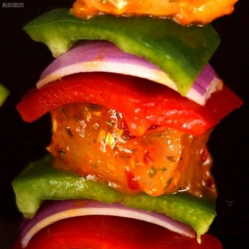 Chicken & Vegetable Kebabs