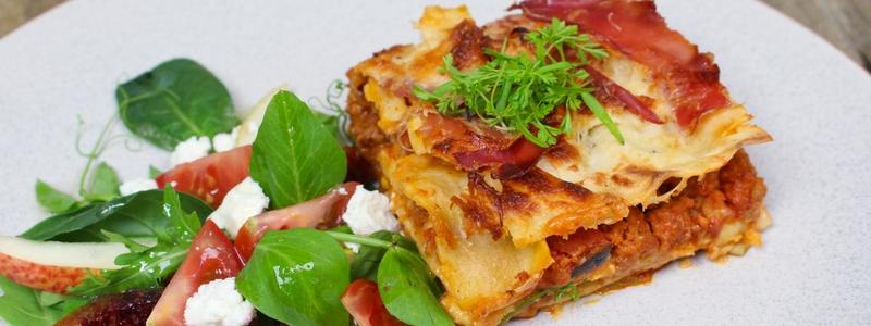 Chorizo & Manchego Lasagne