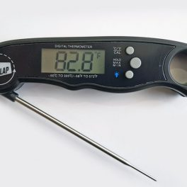 fire slap digital meat thermometer