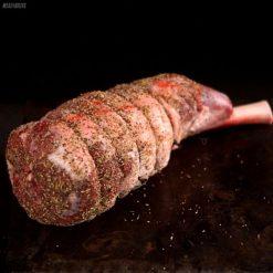 Lamb Leg - Easy Carve - Tree Bark Rub