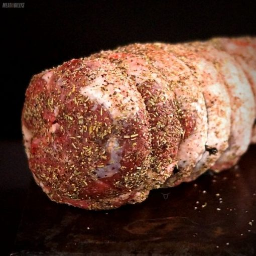 Lamb Leg - Easy Carve - Tree Bark Rub