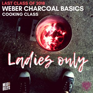 Charcoal basics cooking class