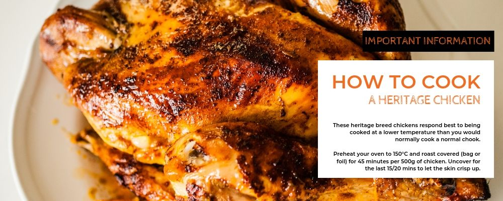 How to cook Roast Heritage Chook