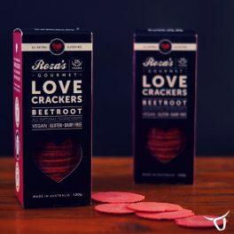 Beetroot Crackers