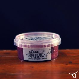 Beetroot, walnut & Pomegranate Dip