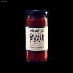Chilli Ginger Chutney Roza's Gourmet