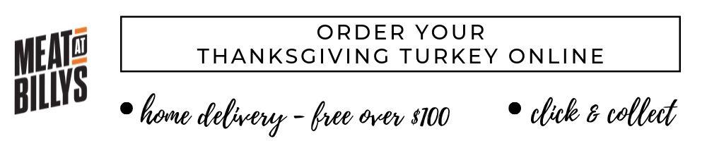 ORDER YOUR THANKSGIVING TURKEY ONLINE