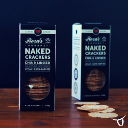 Chia & Linseed Naked Crackers