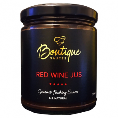 red wine jus boutique sauces
