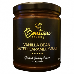 Vanilla Bean Salted Caramel Sauce