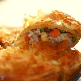 Beefy's Chicken Vegetable Pie