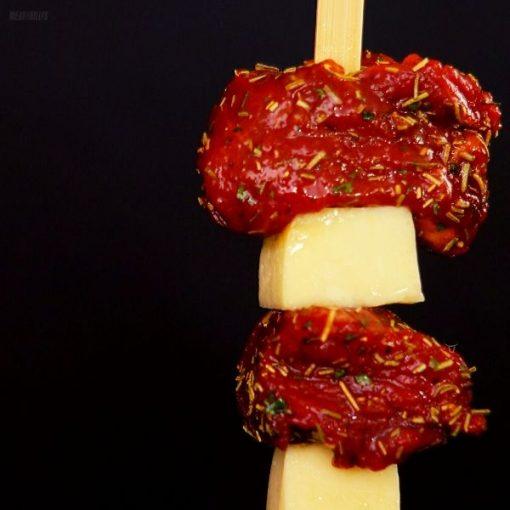 Lamb & Haloumi Kebab