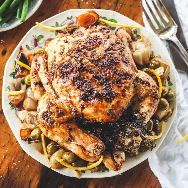 Cumin Roasted chicken