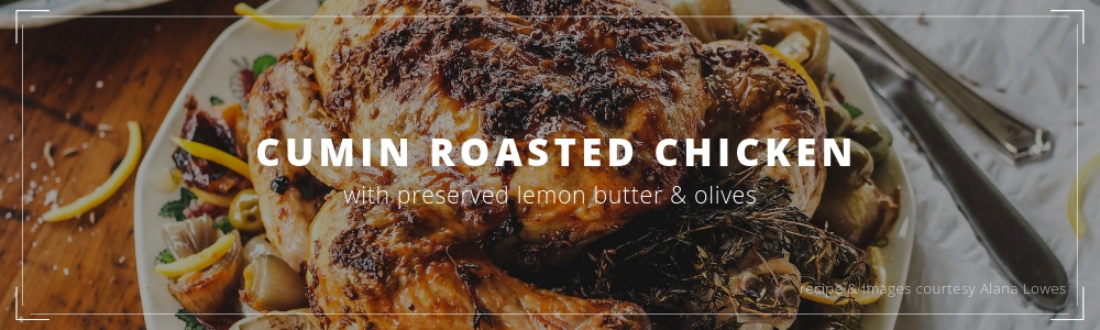 Cumin roasted chicken 1