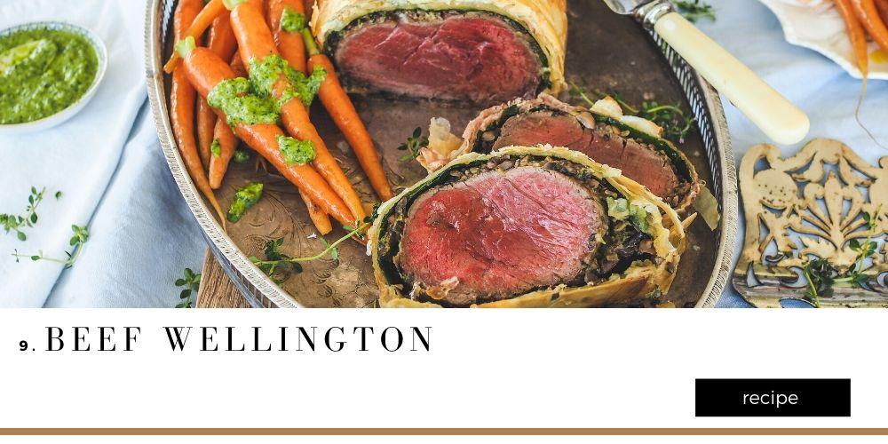 Beef Wellington Christmas Recipes Blog