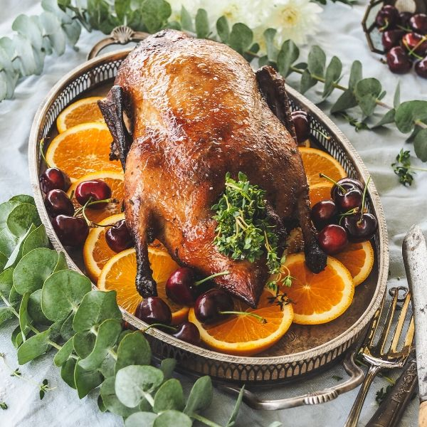 Miso, Maple & Whiskey Roasted Duck Recipe Blog featured image 600 x 600