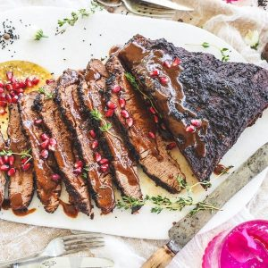 Pomegranate and Christmas Spiced Brisket Feature Image 600x600 (2)
