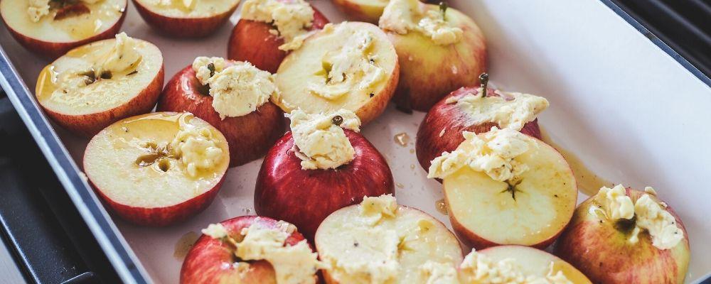 Salted Maple Apples Herb Roasted Pork Loin Recipe Blog 1000 x 400