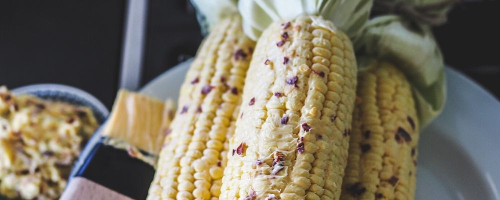 BBQ Corn with Chilli & Lime Salted Butter and Manchego Cheese - image 1