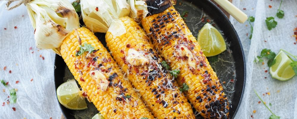 BBQ Corn with Chilli & Lime Salted Butter and Manchego Cheese - image 3