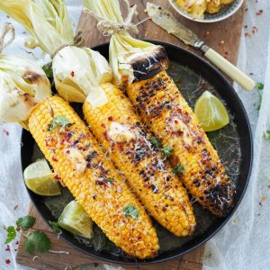 BBQ Corn with Chilli & Lime Salted Butter and Manchego Cheese_featured image 1080x1080