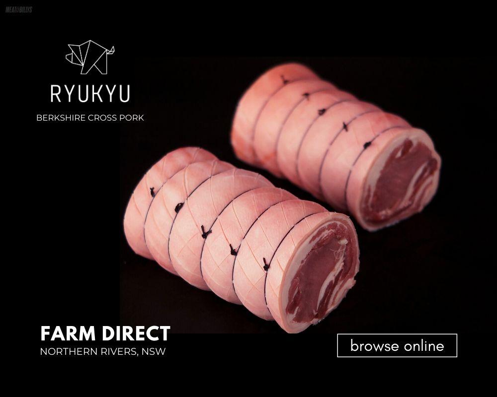 Ryukyu Berkshire Cross Pork Blog_Pork Loin Roasts