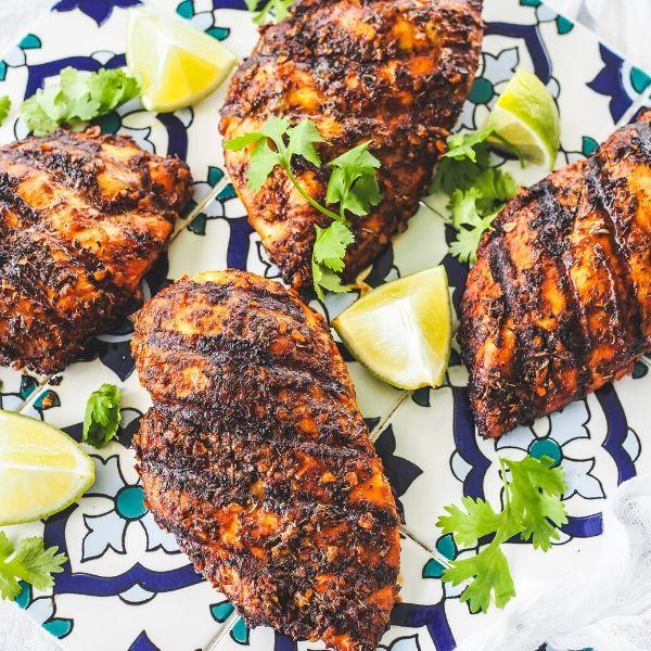 Cajun chicken breast