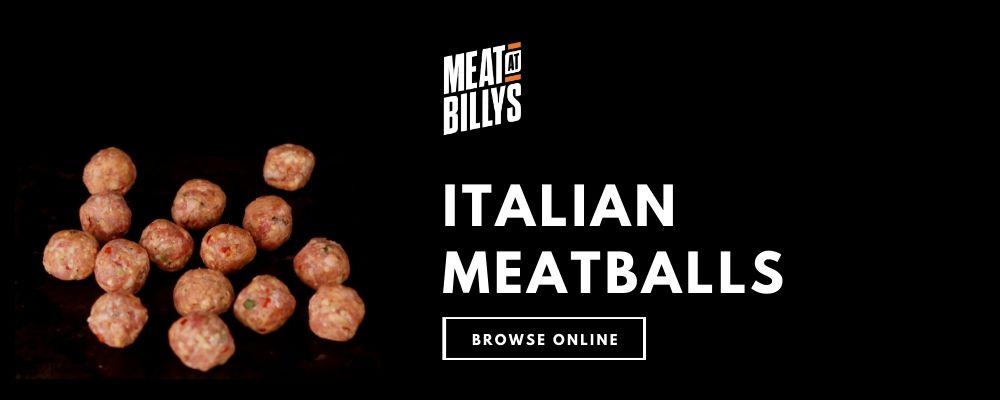 Italian Meatballs product highlight