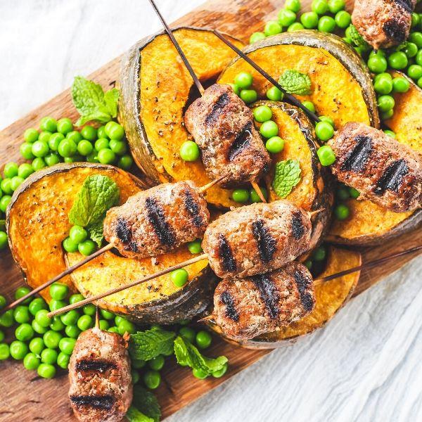 tandoori beef koftas