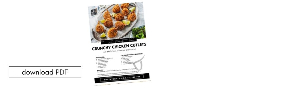 download pdf Crunchy Chicken Cutlets