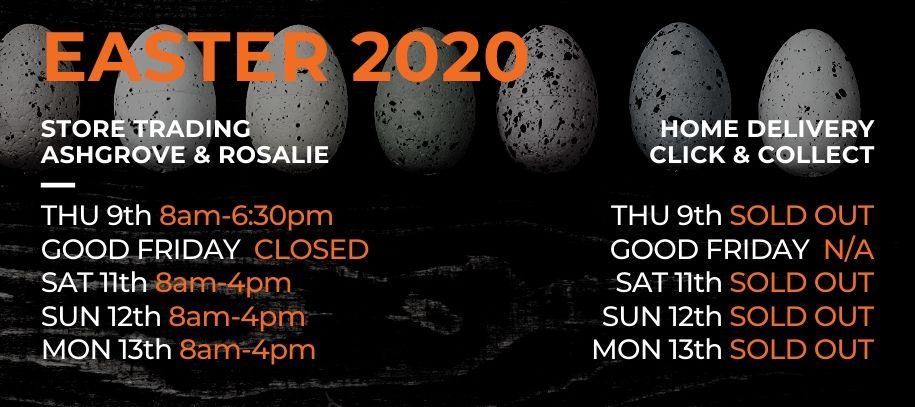 Easter Trading 2020