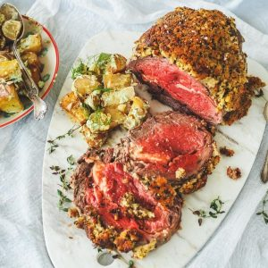 Mustard Crusted Beef Fillet Roast