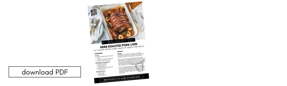 download PDF (12) herb roasted pork loin
