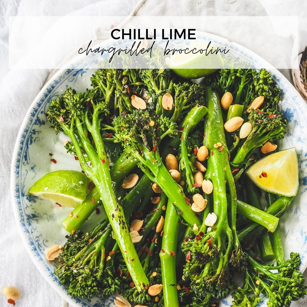Chilli Lime Chargrilled Broccolini