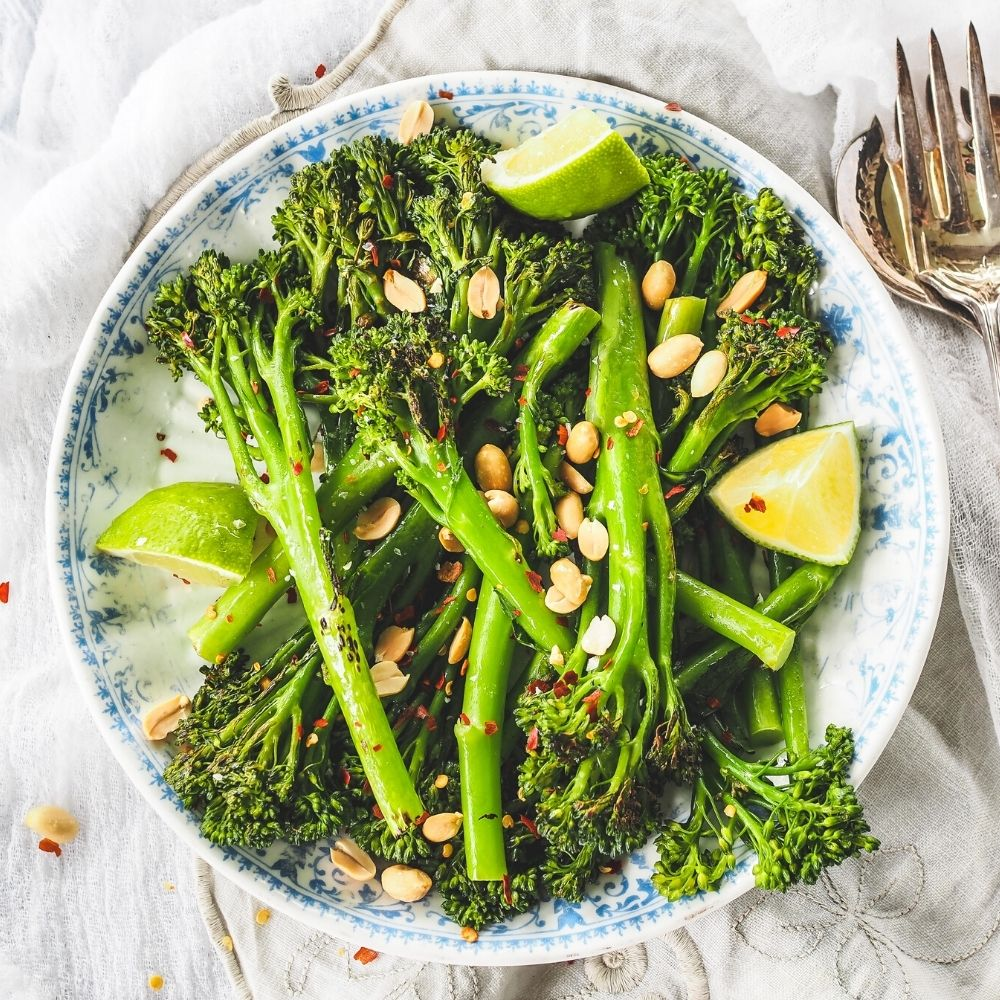 Chilli Lime Charred Broccolini