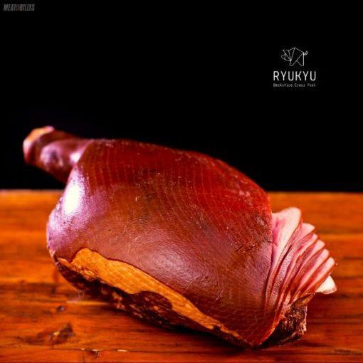 Ryukyu Berkshire Cross Ham on the Bone