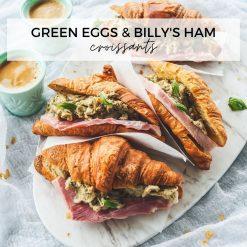 Green Eggs & Ham Croissants