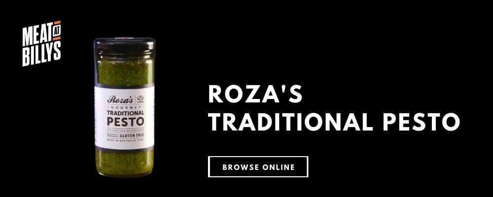 Roza's Pesto Product Highlight for blog