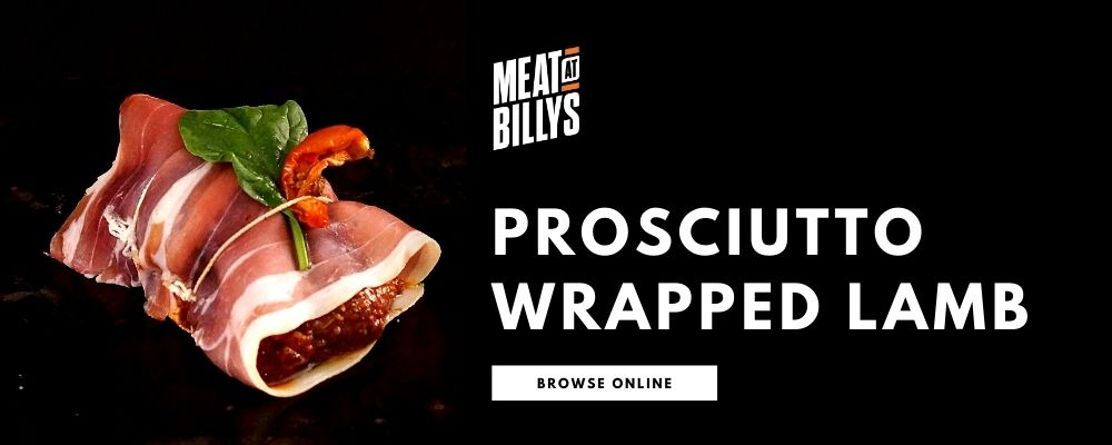Proscuitto Wrapped Lamb